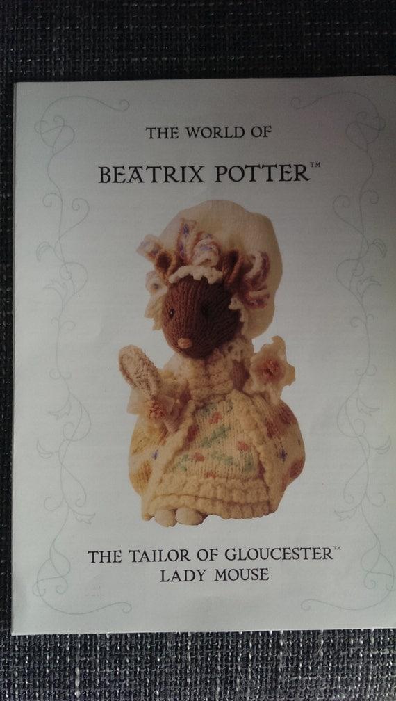 Beatrix Potter Knitting Patterns : The world of Beatrix Potter Te Taler of Gloucester LadyMouse