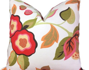 Pillow Cover, Floral decorator pillow cover