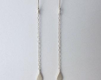 Sterling Silver Rain Drop Earrings