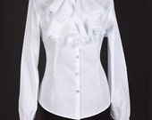 Ladies Steampunk Blouse