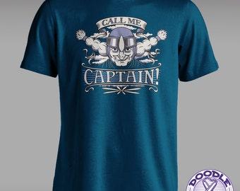 Call Me Captain! - Laputa Themed T-shirt