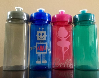 Personalized Square Water Bottle