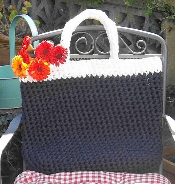 Crochet Tote Bag. PDF Crochet Pattern
