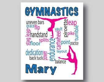 "Shop ""gymnastics gifts"" in Art & Collectibles"