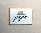 Father's Day Card, Dad Birthday Card: Italian father, Papa