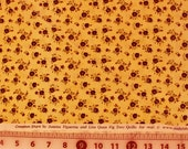 """Moda Fig Tree Quilts """"Cinnamon Stars""""  Quilt Fabric Sold by the HALF Yard"""
