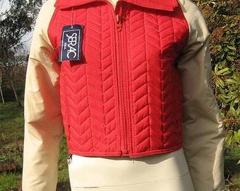 Vintage 80s Serac Quilted Ski Jacket. Unworn with Tags  S / M