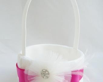 Flower Girl Basket Combination - Many Color Options