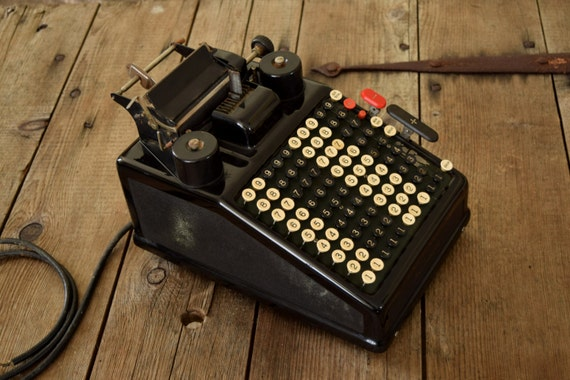 burroughs antique adding machine