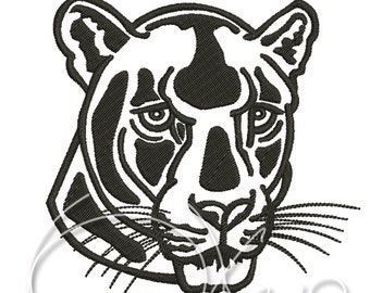 MACHINE EMBROIDERY DESIGN - Panther