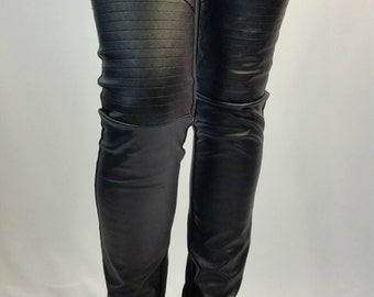 Leather leggings | Etsy