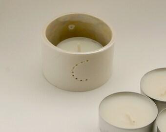 Personalised Candle Holder - Personalised Gift - Votive Candle Holders - Tea Light Candle Holders - Christmas Tea Light Holders - Monogram