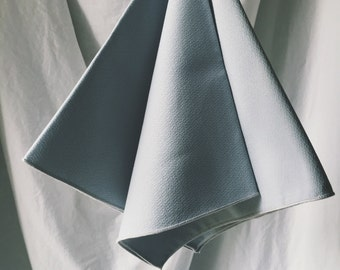Blue Napkins - Cloth Napkins - Cloth Napkin Set - Pale Blue napkins - Big Napkins