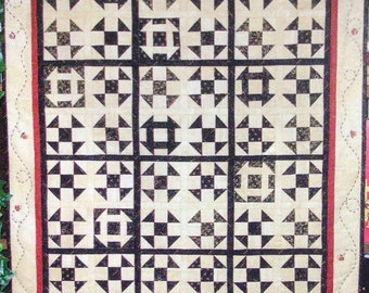 """Shoo Fly Surprise Quilt Kit 26 1/2"""" x 33 1/2"""""""