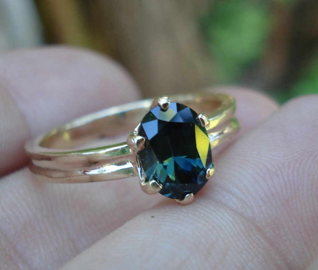 green sapphire engagement rings ring blue green sapphire ring blue green sapphire source abuse report