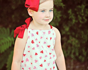 Elisabeth Pillowcase Top or Dress sizes 3months to - 12 years PDF Pattern  All Sizes Included