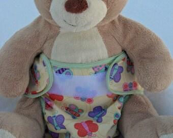 butterflies cloth diaper cover, waterproof PUL