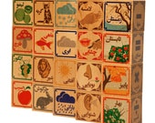 "Persian educational building blocks - ""Farsi"" (فارسی) - Perfect Eidi! Nowruz Gift! Luxury Quality, Non-Toxic, Made in USA!"