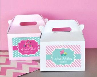Spa Party Favor Box - Girls Spa Theme Party Favors Boxes - Kids Spa Party Favors Ideas  2| (EB2313MDKZ) - 24 pcs