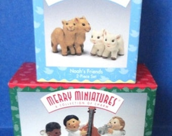 Hallmark Miniatures Set #27
