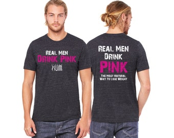"CLEARANCE - XXL Plexus ""Real Men Drink Pink"" Crew Neck Tee 20276341415JG"
