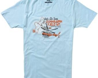 Heli Ski Tours T-shirt