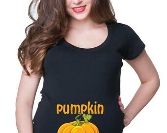 Pumpkin Smuggler T-Shirt Maternity Tee Shirt Pregnancy Halloween Costume Shirt