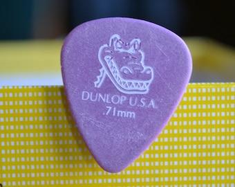 Dunlop Alligator, Upcycle Guitar Pick, Lapel/Decorative/Tie Pin