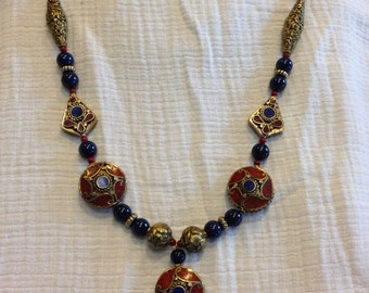 Nepalese Coral necklace