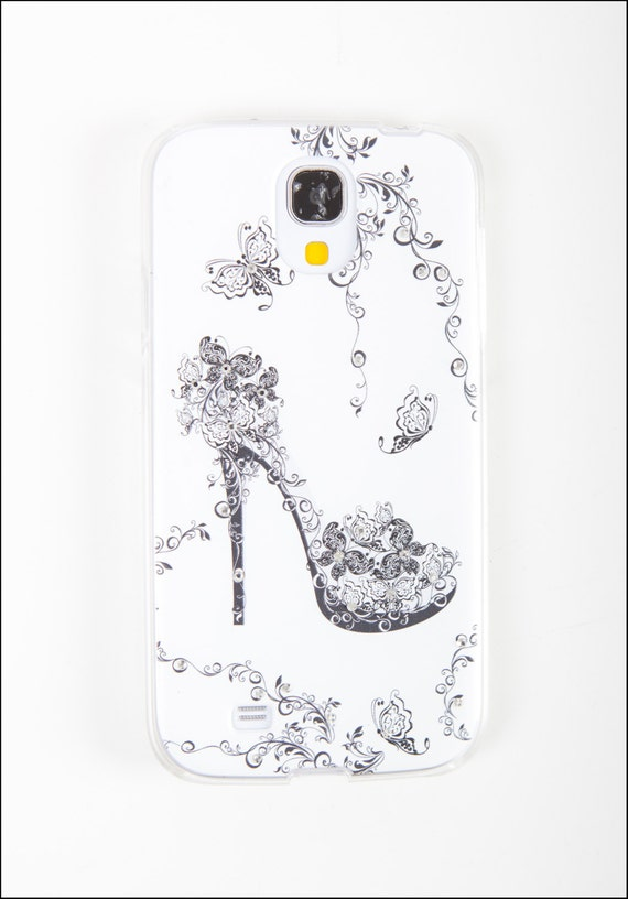 items similar to samsung galaxy s4 case - diamond shoe samsung i9500 case
