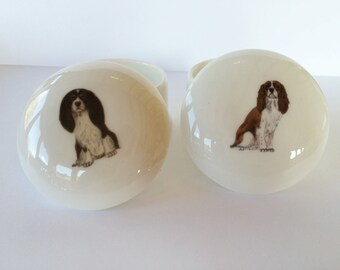 Small Cavalier King Charles Spaniel Trinket Box