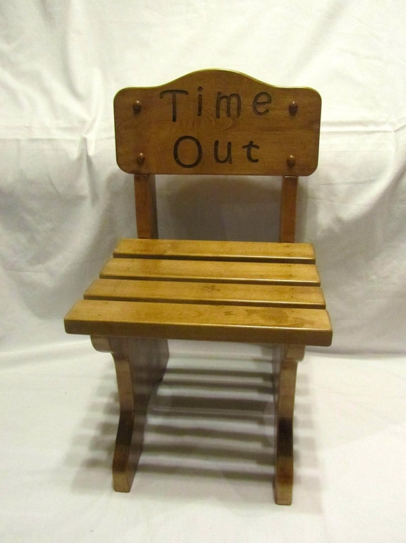 Personalized Children 39 S Chair Custom Engraved Time Out