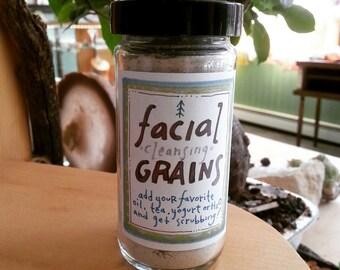 Organic Facial Cleansing Grains