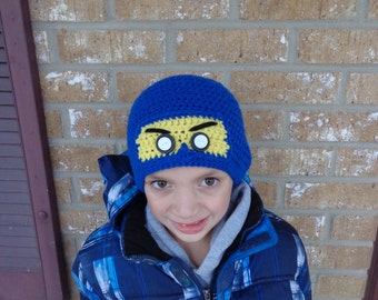 "Ninjago Hat! Lego Ninja Hat from ""Lego Movie""! Choose your color to customize your hat! Perfect for Halloween, the winter, or just for fun!"