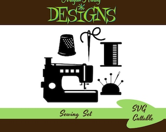 Sewing Set SVG