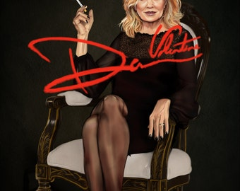 American Horror Story Jessica Lange poster print 11x17in supreme Fiona Goode, Elsa Mars, hotel feud