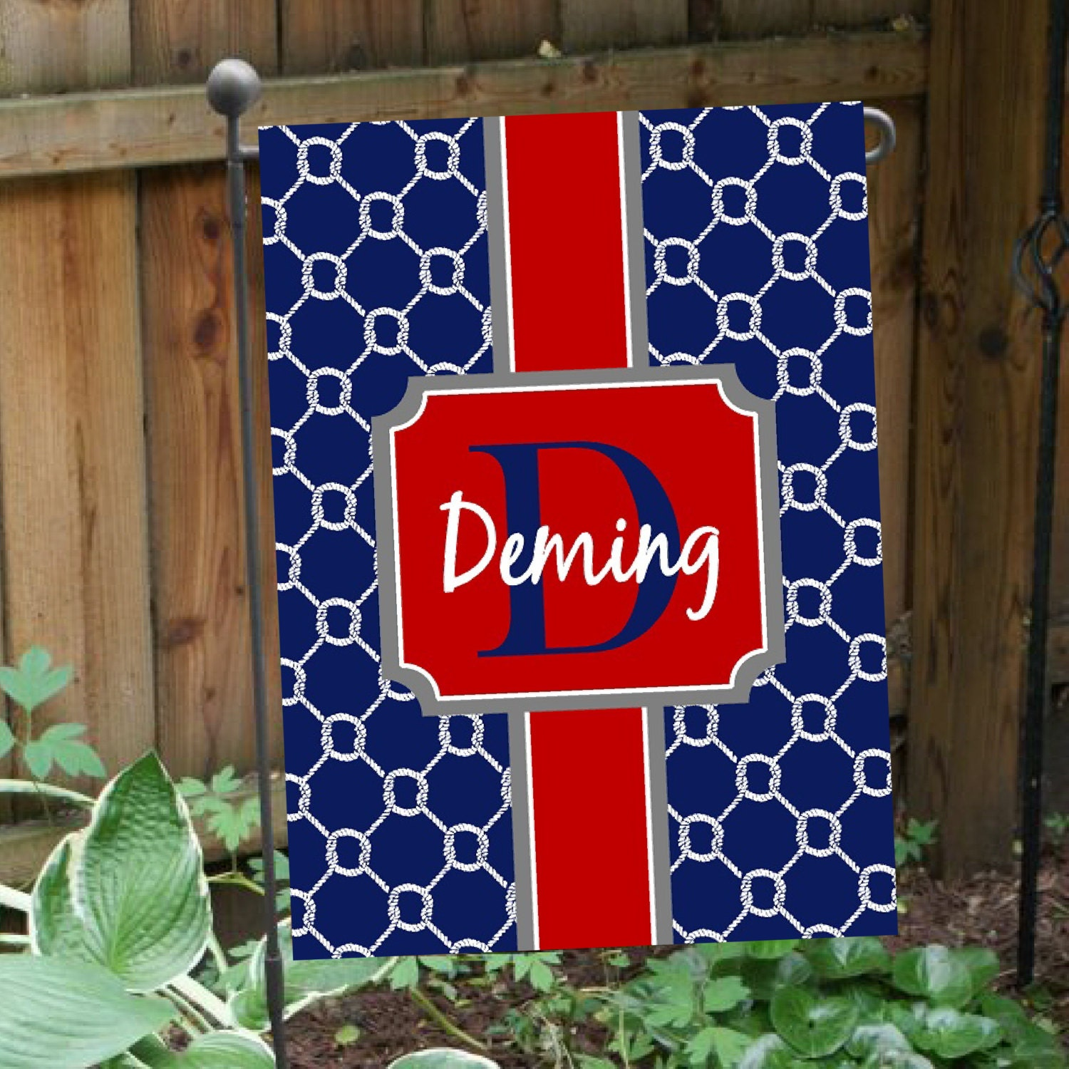 On Sale Personalized Flag Double Sided Garden Flag House