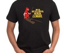 Web Developer Ninja League T-Shirt
