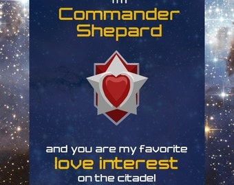 Mass Effect Love Note