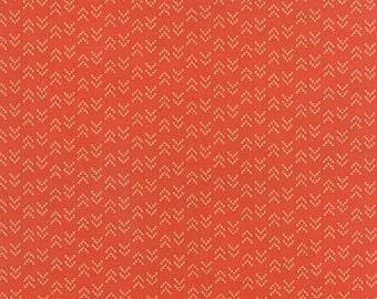 Southwestern Arrow Fabric, Moda Nomad 31106 13 Arrowhead Adobe, Urban Chiks, Tone on Tone Dark Orange, Terra Cotta Quilt Fabric, Cotton