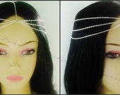 Sale.........Boho style/goddess silver, bronze or gold head chain