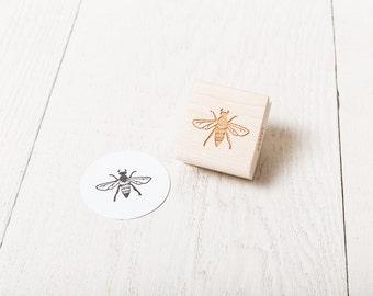 Honey Bee - Rubber Stamp