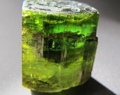 Rain Forest Green Tourmaline Crystal Large Natural Gem with Rainbows Sedona Bell Rock Summit Reiki Charged