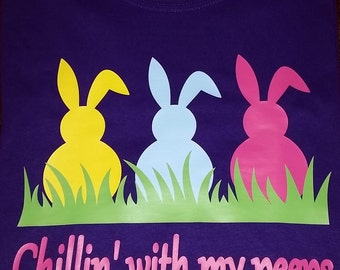 Chillin With My Peeps Easter Shirt
