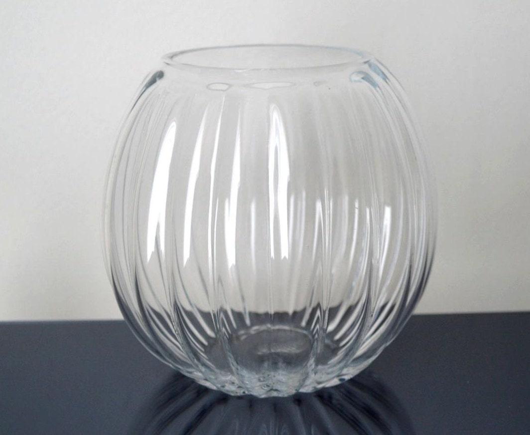 Empoli glass balloon vase by treasureette on etsy