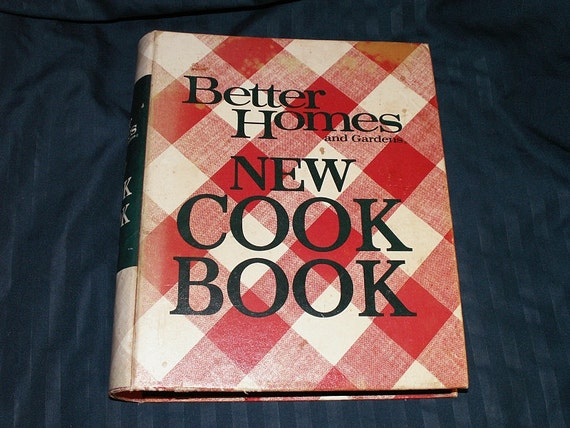 Vintage cookbook better homes and gardens new cook book - Better homes and gardens cookbook 1968 ...