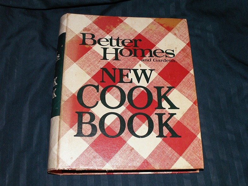 Vintage Cookbook Better Homes And Gardens New Cook Book