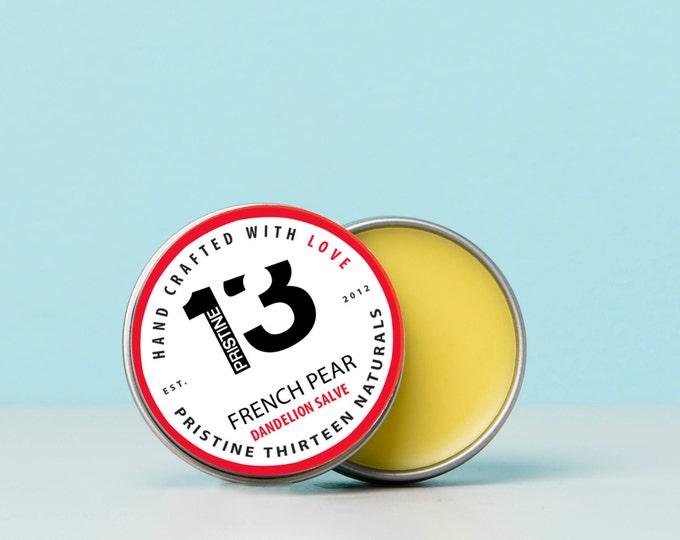 Dandelion Salve with French Pear