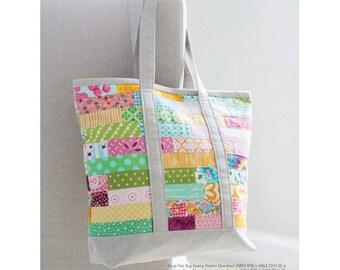 Scrap Tote Bag Sewing Pattern Download (803946)