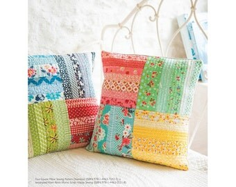 Four Square Pillow Sewing Pattern Download (803944)